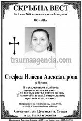 Стефка Илиева Александрова