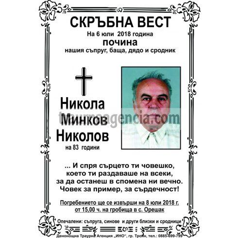 Никола Минков Николов
