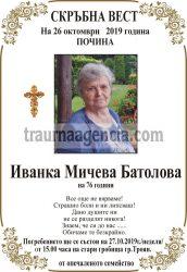 Иванка Мичева Батолова