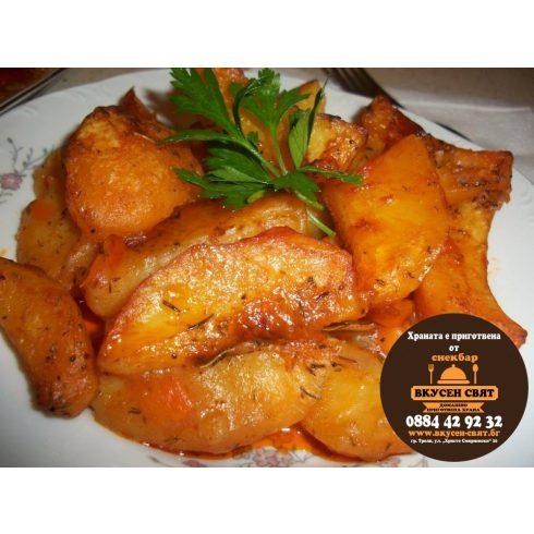 картоф на фурна
