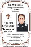 Иванка Стойкова Чакърска