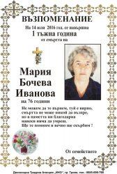 Мария Бочева Иванова