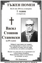 Васил Стоянов Станевски