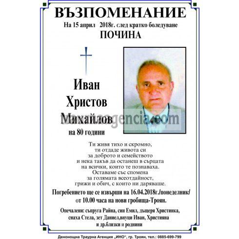 Иван Христов Михайлов